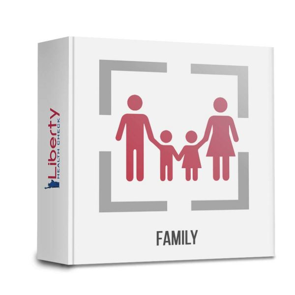 Family Intolerance Test (4 x 800+ sensitivities) from Liberty Health Check