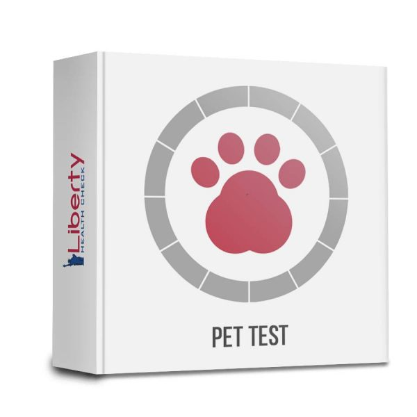 Pet Intolerance Test (60 sensitivities) from Liberty Health Check
